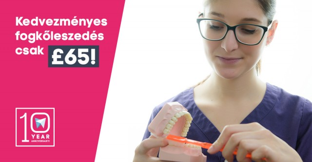 Discounted Dental Hygiene for only £65!