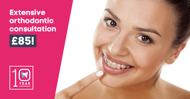 Extensive Orthodontic Consultation for only £85