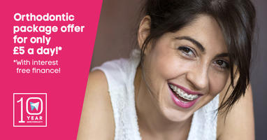 Orthodontic package offer for only £5 a day!